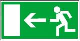 Rettungsschild (Notausgang)